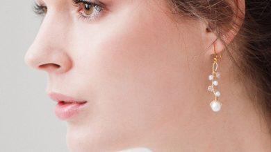 تصویر ۱۷ مدل گوشواره طلا مناسب هدیه با قیمت روز و خرید اینترنتی