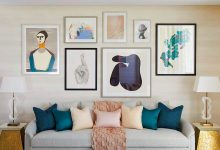 معرفی انواع تابلو با عکس مدلهای تابلو جدید پذیرایی و اتاق خواب