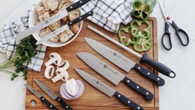 تصویر ۲۱ مدل سرویس چاقوی آشپزخانه تیز و زیبا به همراه قیمت روز و خرید اینترنتی