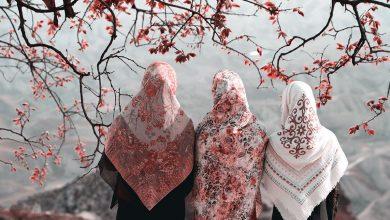 تصویر راهنمای خرید و معرفی ۲۳ مدل روسری جدید و جذاب با قیمت روز