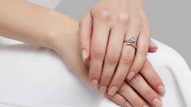 تصویر ۲۳ مدل انگشتر نقره زنانه مناسب هدیه با قیمت روز و خرید اینترنتی