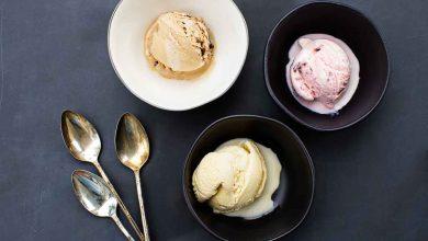 تصویر ۲۳ مدل ظرف بستنی خوری شیک و زیبا با قیمت روز و خرید اینترنتی