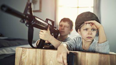 تصویر ۲۳ مدل تفنگ اسباب بازی زیبا و ارزان با قیمت روز و خرید اینترنتی