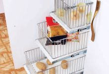 تصویر ۲۳ مدل سبد سیب زمینی و پیاز زیبا و جادار با قیمت روز و خرید اینترنتی