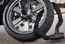 تصویر قفل موتورسیکلت: راهنمای انتخاب و خرید ایمنترین مدلها با خرید اینترنتی
