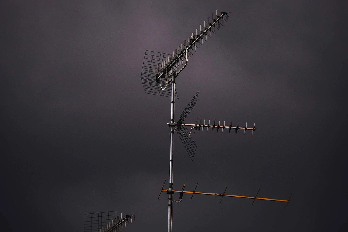 آنتن هوایی تلویزیون