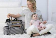 تصویر ساک لوازم کودک: معرفی بهترین مدلهای ساک نوزاد با خرید اینترنتی