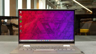 تصویر لپ تاپ لنوو: بهترین لپتاپهای Lenovo با خرید اینترنتی