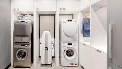 تصویر خشک کن لباس: بهترین دستگاههای لباس خشک کن با خرید اینترنتی