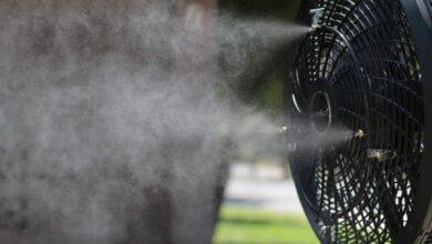 تصویر پنکه رطوبت ساز: بهترین پنکههای مه پاش با خرید اینترنتی