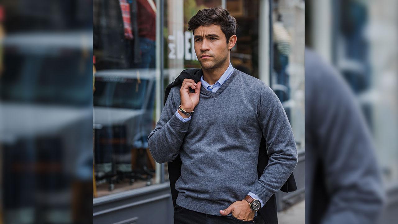 راهنمای خرید پلیور مردانه