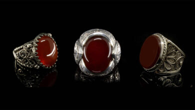 تصویر انگشتر نقره مردانه: بهترین انگشترهای نقره آقایان با خرید اینترنتی