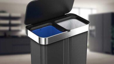 تصویر سطل زباله: بهترین سطلهای آشغال با خرید اینترنتی