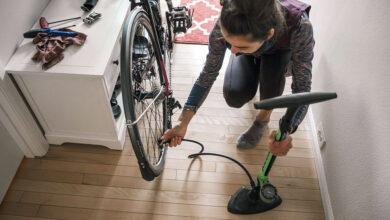 تصویر تلمبه دستی: معرفی بهترین تلمبههای دوچرخه با خرید اینترنتی