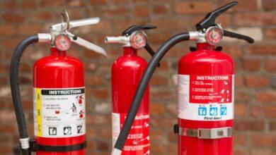 تصویر کپسول آتش نشانی: بهترین کپسول های اطفاء حریق با خرید اینترنتی