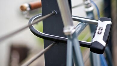 تصویر قفل دوچرخه: بهترین قفلهای ضد سرقت دوچرخه با خرید اینترنتی