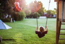 تصویر تاب کودک: معرفی بهترین تابها برای کودکان با خرید اینترنتی