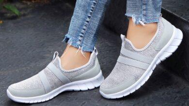 تصویر کفش راحتی زنانه: بهترین کفشهای راحتی برای خانمها با خرید اینترنتی