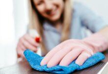 تصویر دستمال میکروفایبر: معرفی بهترین دستمالهای نانو با خرید اینترنتی