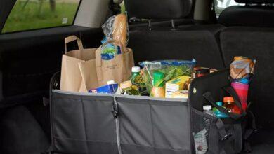 تصویر بهترین مدلهای نظم دهنده صندوق عقب خودرو با خرید اینترنتی