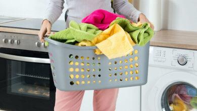 خرید اینترنتی سبد لباس